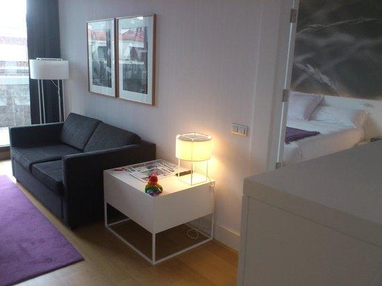 NH Collection Villa de Bilbao: Vista de Suite Salón/habitación
