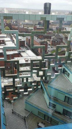 Hotel Indigo Birmingham : View from Window