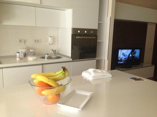 Orhideea Residence & Spa: Kitchenette
