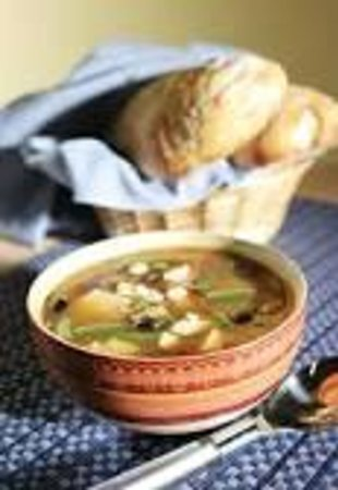 The Crown and Crumpet: soup