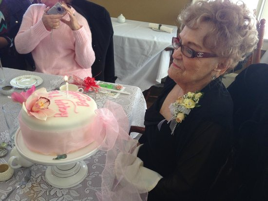 The Crown and Crumpet: Lovely lady celebrating 99 years young