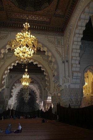 Mosquée Hassan II : внутри