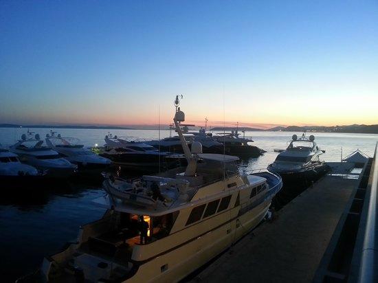 Le Meridien Lav Split: Marina night