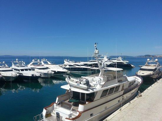 Le Meridien Lav Split: Marina day