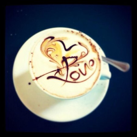 News Cafe: Cappuccino romantico!!