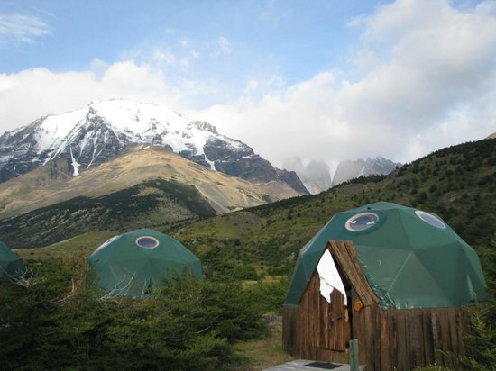Ecocamp Patagonia : Each dome is a room