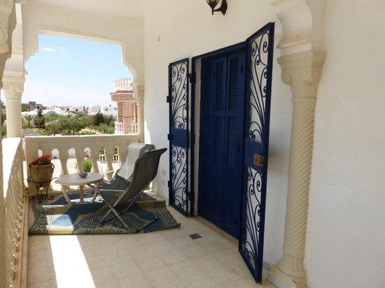 Dar Karmi Djerba: Terrasse appartement pour 4 personnes