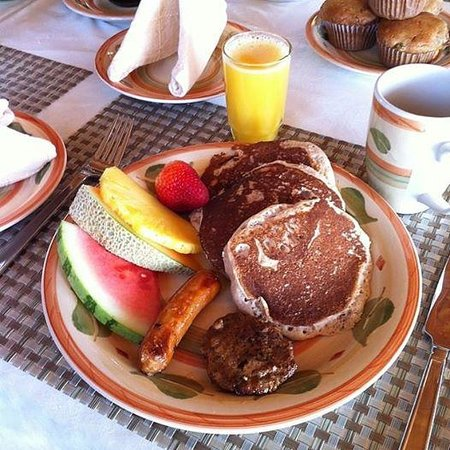 Willow Shores B&B: breakfast day 2
