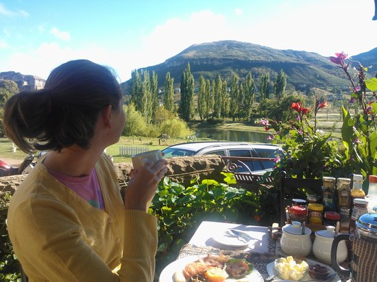 Lake Clarens Guest House: Breakfast view