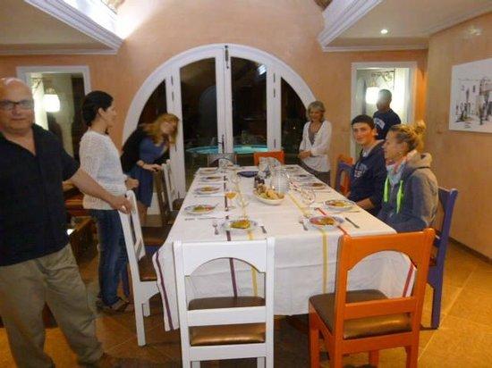 Dar Nesma : Repas avec les hôtes