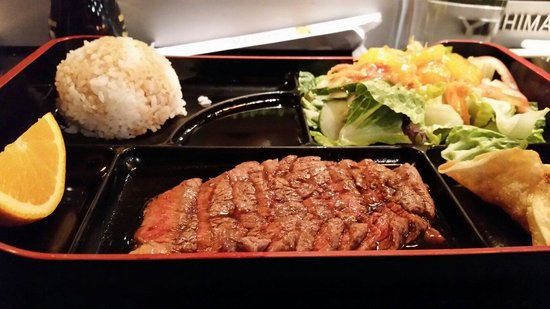 Shoga Japanese Restaurant : Teriyaky Beef Lunch Special