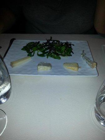 Roscanvec: assiette de fromages