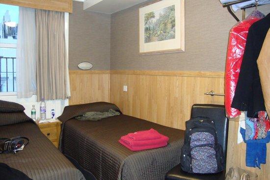 Huttons Hotel: Habitación twin standard