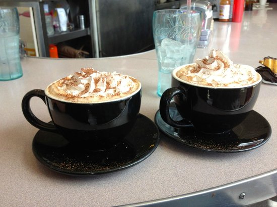 Clayton's Coffee Shop: Mexican chocolate mochas