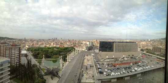 Gran Hotel Torre Catalunya: A view to the west