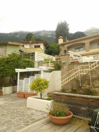 Hotel Arenella: due terrazze con salottini e solarium