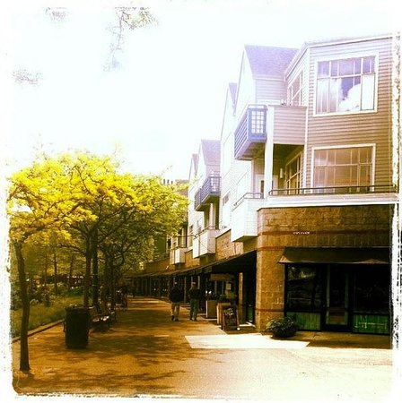 Kimpton RiverPlace Hotel: River walk