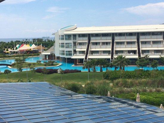 Hilton Dalaman Sarigerme Resort & Spa: Uitzicht kamer