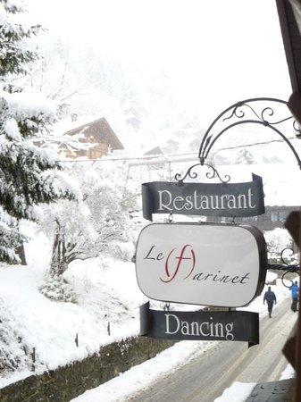 Farinet Restaurant & Nightclub: En hiver