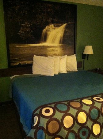 Super 8 Kingsport: King Size Bed
