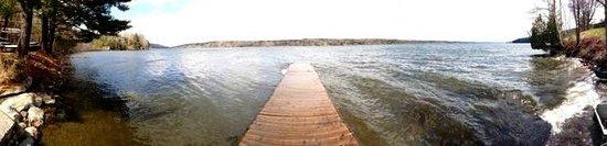 Manoir Hovey: Lake