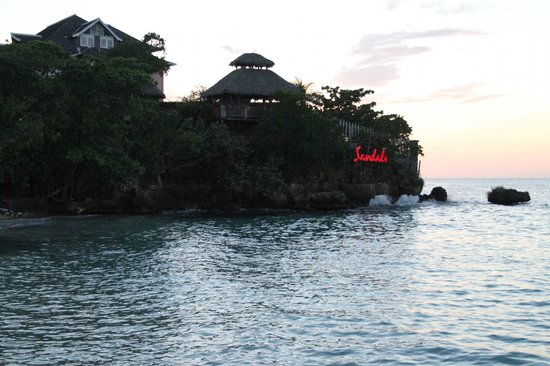 Sandals Ochi Beach Resort : Overlook