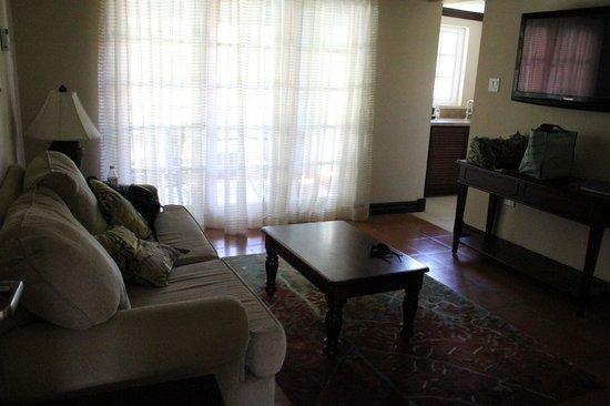 Sandals Ochi Beach Resort: Living area