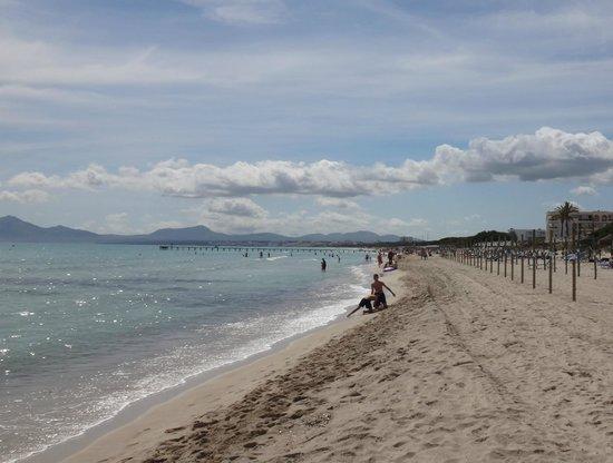Eden Playa: Flot strand mod syd
