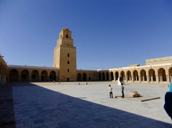 Grande Mosquée de Kairouan : minaret