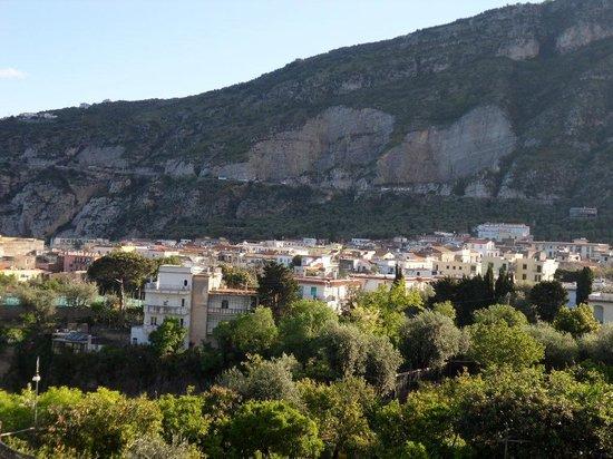 Hotel Albatros: uitzicht vanuit onze slaapkamer