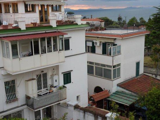 Hotel Albatros : uitzicht vanuit onze slaapkamer