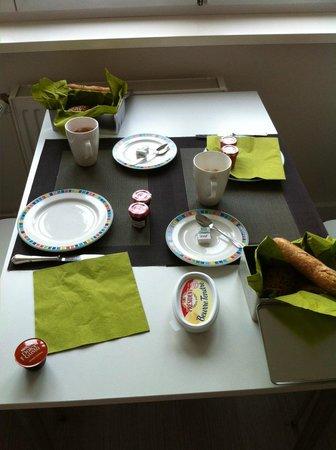 Hostellerie Louis XIII: Petit déjeuné
