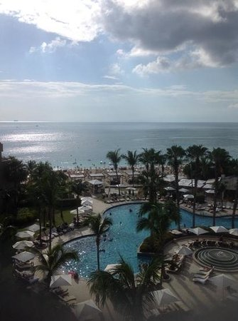 The Ritz-Carlton, Grand Cayman: view from our 6th floor room