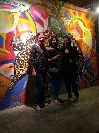 Art Walk at Gallery District SJC: Art&Walk, Friends and I