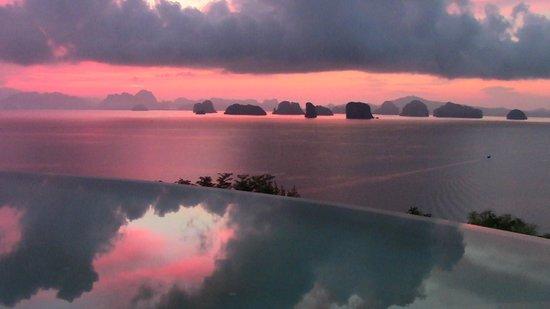 Six Senses Yao Noi : sunrise at hilltop