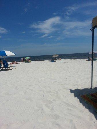 Pensacola Beach : view of the beach