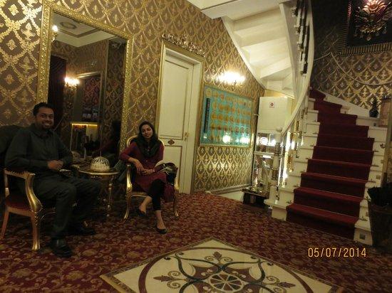 Sultan Tughra Hotel : Lobby area