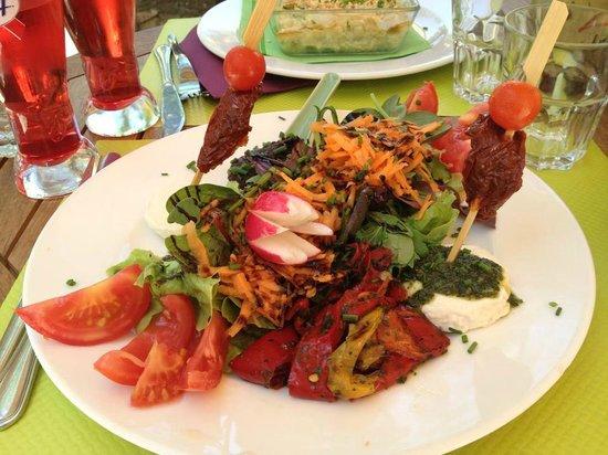 Les Comtes : salade