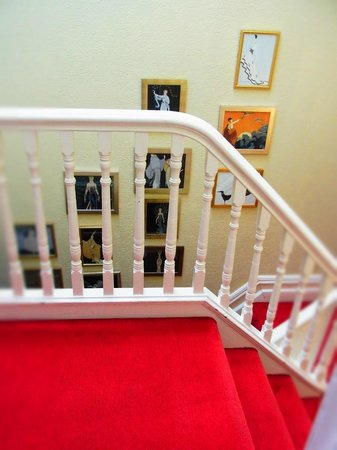 Howarth House: 階段