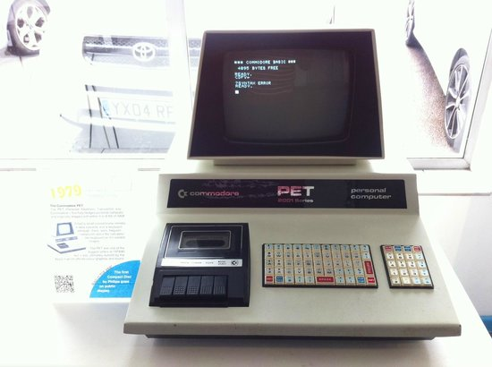 The Centre for Computing History : Commodore PET.