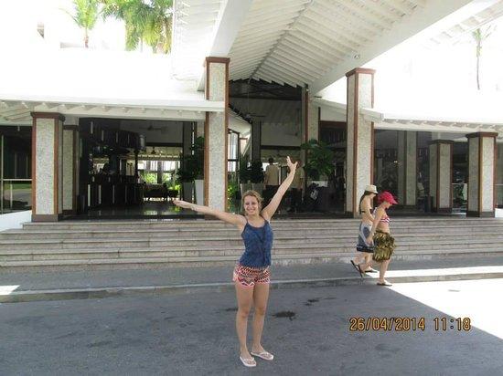 Hotel Riu Palace Macao: La entrada a la recepcion