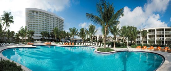 Pool at the Hilton Fort Lauderdale Marina