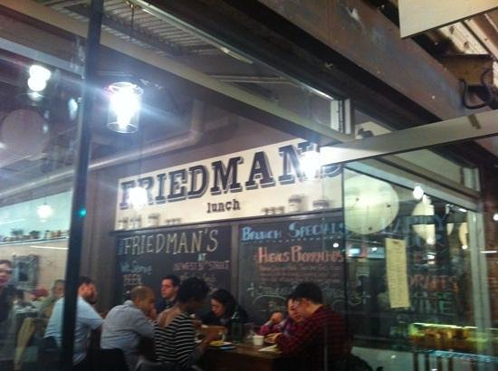 Friedmans Lunch, Chelsea Market NYC - Picture of Friedman's Lunch