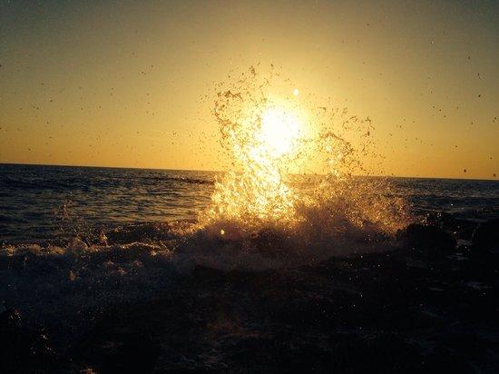 Caspersen Beach: Sunset :)
