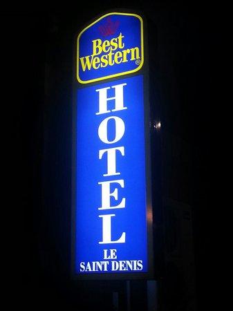 Best Western Le Saint Denis : Bebertosan 05/14.