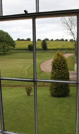 Goss Hall Bed & Breakfast: Room with a view