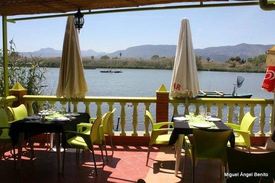 Casa Picanterra: Terraza del restaurante Picanterra