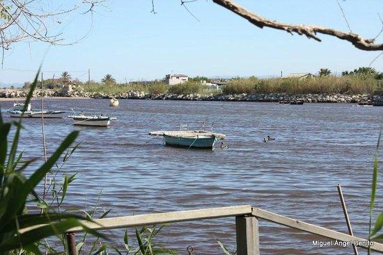 Casa Picanterra: Vista del estany de cullera