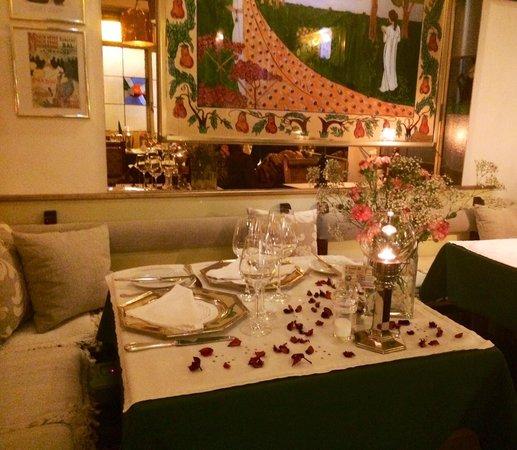 La Langosta: La mesa de los enamorados