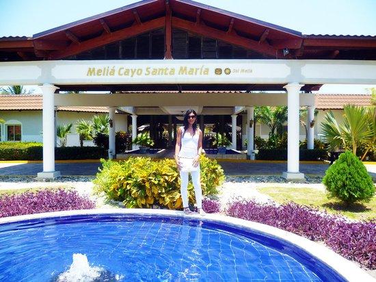 Melia Cayo Santa Maria : entrata  al  melia cayo s.maria